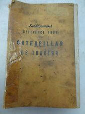 Caterpillar Diesel Engines Factory Service Manual D8 Tractor Form 7620C