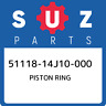 51118-14J10-000 Suzuki Piston ring 5111814J10000, New Genuine OEM Part