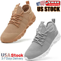 Men's Athletic Sneakers Outdoor Casual Sports Running Shoes Jogging Tennis Gym