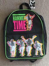 Vintage MC Hammer Time Backpack 1991 Busted Zipper