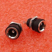 10PCS 5.5 x 2.1mm DC Power Supply Jack Socket Female Panel Mount Connector