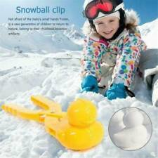 FUNNY DUCK SHAPE SNOWBALL MAKER WINTER SNOW SCOOP CLIP SAND CLAY MOLD KIDS' TOY