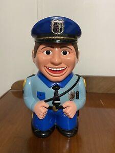 Vintage Cookie Cop Cookie Jar, Talks - Stop Move Away From The Cookie Jar