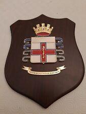Crest araldico Croce Rossa  Rarità
