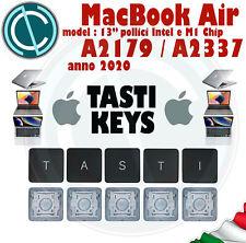 "KEY TASTO CLIP X APPLE MACBOOK AIR 13"" A2179 A2337 2020 M1 CHIP X KEYBOARD TASTI"