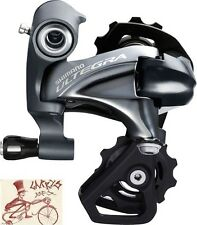 SHIMANO ULTEGRA 6800-SS 11-SPEED SHORT CAGE GREY REAR BICYCLE DERAILLEUR