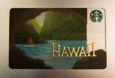 STARBUCKS HAWAII ISLAND CAVE OCEAN GIFT CARD, Coffee