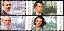 MOLDOVA 2008 Famous People of World Culture. Music, Literature, Education, MNH