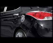 Chrome Fuel Gas Tank Door Cap Cover B315 1Pcs for Hyundai ELANTRA 2011-2015 2016