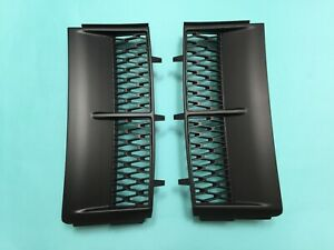 Side Wing Air Vent Grille Performance Style For 2003-2005 Range Rover L322 BLACK