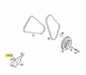 A0009916740 SMART 450 451 452 AT COVERING EXPANSION RIVET GENUINE NEW