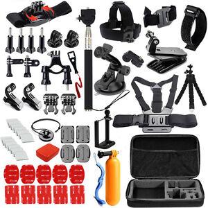 Camera Kits Mount Set for Go Pro 8 9 SJCAM SJ4000/Xiaomi Yi for Eken H10 Tripod