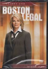 BOSTON LEGAL - STAGIONE UNO - DISCO DUE - DVD (NUOVO SIGILLATO) EDITORIALE