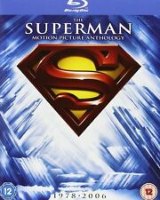 Superman Complete Collection 1 2 3 4 5 Return 1-5 8-Disc Edition Blu-ray NEW