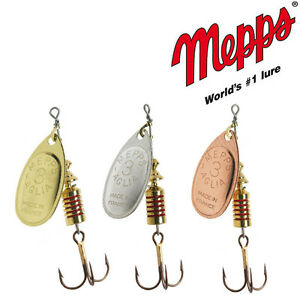 Mepps original AGLIA fishing spinners. BRAND NEW. Different sizes/colors
