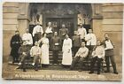 Postcard: WWI wounded german soldiers at the hospital in Singen 1915   pok.1267
