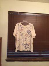 Womens Liz&Me Multi Color Pullover Top.  Size 2X (22/24W).  PRETTY!!