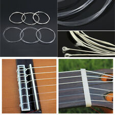 6 Pcs/Set Acoustic Guitar Nylon Strings Wound Clear Gauge for Classic Guitar Hot