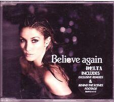 Delta Goodrem Believe Again Australian enhanced CD single (2007)
