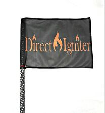6' L.E.D. RGBW SAFETY FLAG WHIP 20 COLORS OVER 30 MODES+ REMOTE RZR CANAM TWISTY