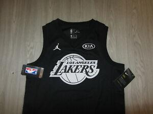 NWT Kobe Bryant Los Angeles Lakers NBA Basketball Jersey Jordan Dri-Fit Youth M