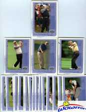 2002 UD EXCLUSIVE Factory Sealed Golf Set-Tiger Woods, Phil MICKELSON RC