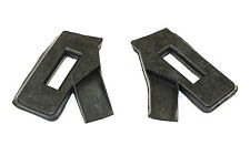 A PAIR OF SCREEN PILLAR TO BODY SEALS MGB & MGC ROADSTERS AHH7068 & AHH7069