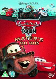 CARS TOON MATER'S TALL TALES (Region 4) DVD Maters Disney
