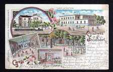 108354 AK Croischwitz Kroischwitz Jacobsdorf bei Schweidnitz Litho 1902 Bahnhof
