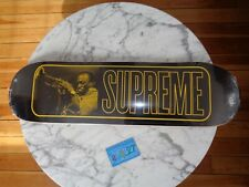 "Supreme NYC Miles Davis Black deck 8.25"" x 32.25"" Skateboard 2021 ss21sb12"