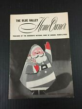 Christmas 1960 Vintage Merchants National Bank of Bangor PA Homeowner Magazine