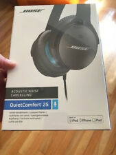 SEALED Bose QC25 7150530-010 APPLE Noise Cancelling Headphones ios Black