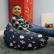 Space Adventure Kids Classic Beanbag - Ready Filled, Washable, Personalise