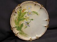 GDA  HAVILAND  LIMOGES    HAND PAINTED  PLATE, SIGNED