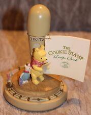 The Cookie Stamp Disney Winnie The Pooh & Piglet Tikit Brown Bag Cookie Art 1997