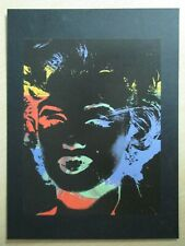 Andy Warhol serigraphic print 1979/86 'Marilyn' - Negatif Series 1988 - Mint