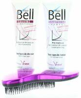 Hairbell Shampoo + Balsamo Flowers E Frutta + Districante Viola Metallico