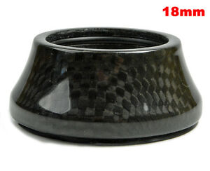 """OMNI Racer WORLDS LIGHTEST Integrated Headset Conical Carbon Spacer 1-1/8"""" 18mm"""