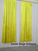 "COL 08: Pair Matching Curtain Panels Drapes for 1 Window 50 ""w x 85""h"