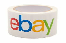 1 BRAND NEW GIANT ROLL OF OFFICIAL EBAY TAPE. BEST QUALITY. 2'' X 75 YDS. ROLL