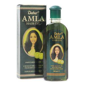 Dabur Amla Hair Oil Indian Gooseberry For Beautiful Hair - 200 ml (6.76 oz)