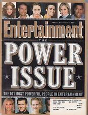 ENTERTAINMENT  #622 2001 POWER ISSUE -SEX IN THE CITY/ KID ROCK/ BRITNEY