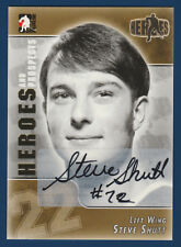 STEVE SHUTT 2004-05 IN THE GAME HEROES AND PROSPECTS AUTOGRAPH NRMINT+  15975