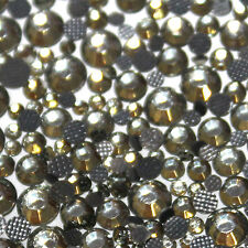 Assorted strass gris glass hotfix s06 + s10 + s16 + s20 n°(103)