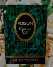 "❤️Christian Dior POISON Avenue Hoche,30!!1987"",3.4oz.100ml,PRE BARCODE,Splash."