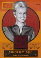 2014 Panini Golden Age Museum Age Marta Kristen Swatch