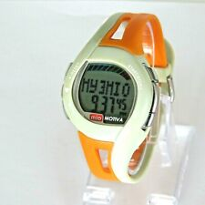 MIO Motiva Petite Heart Rate Monitor Calorie Management Women's Watch  ~ Orange