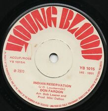 DON FARDON indian reservation*hudson bay 1970 UK YOUNG BLOOD 45