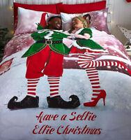 Catherine Lansfield Selfie Elfie Double Duvet Set