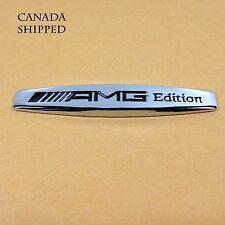 Mercedes Benz Emblem (AMG Edition) Chrome Metal Badge Decal Hood Trunk Side